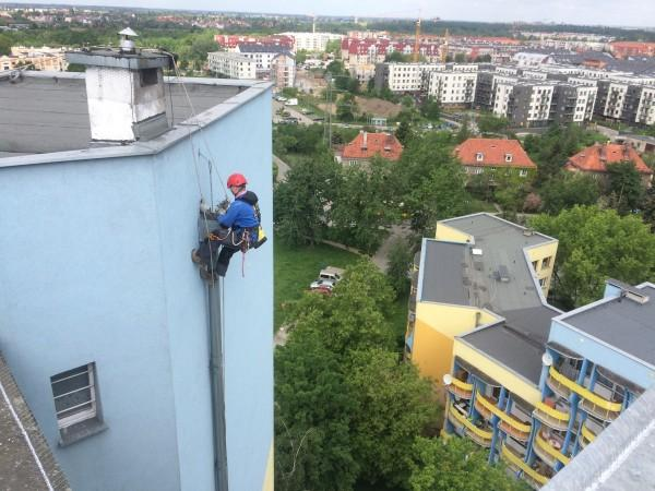 malowanie i odśnieżanie dachów